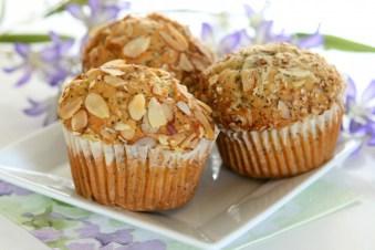 GF Lemon Poppyseed Muffins